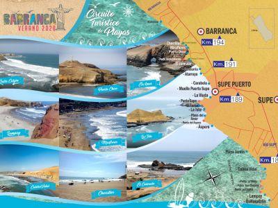 Barranca Verano 2020: Circuito de Playas y Actividades